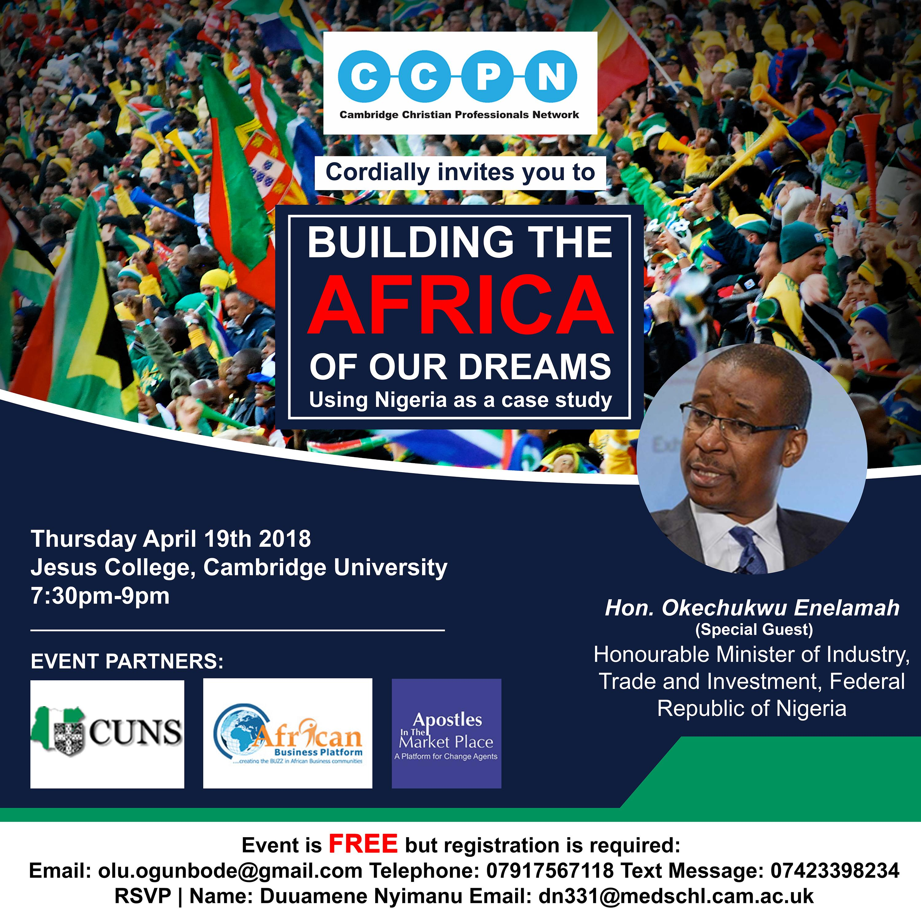 BUILDING THE AFRICA OF OUR DREAMS