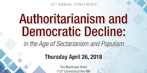 CSID's 19th Annual Conference: Authoritarianism and...