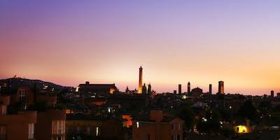Aperitivo con vista Bologna al tramonto
