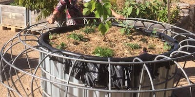 Wire Pot Wicking Bed - History of the Land Garden