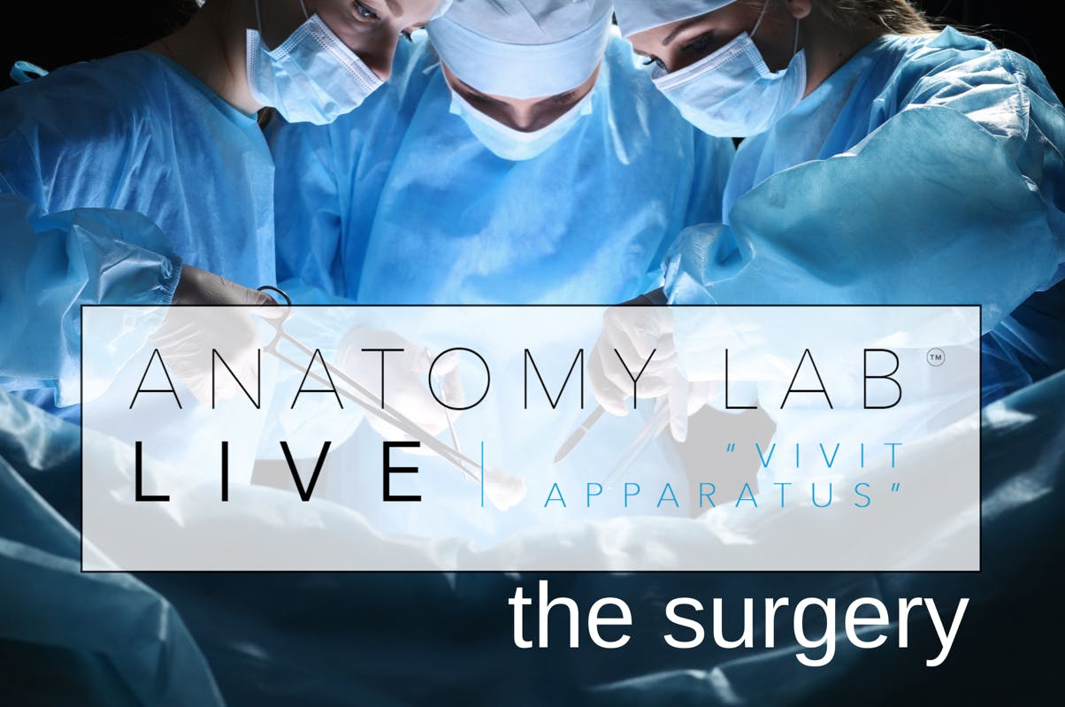 ANATOMY LAB LIVE : THE SURGERY | Portsmouth 23/03/2019