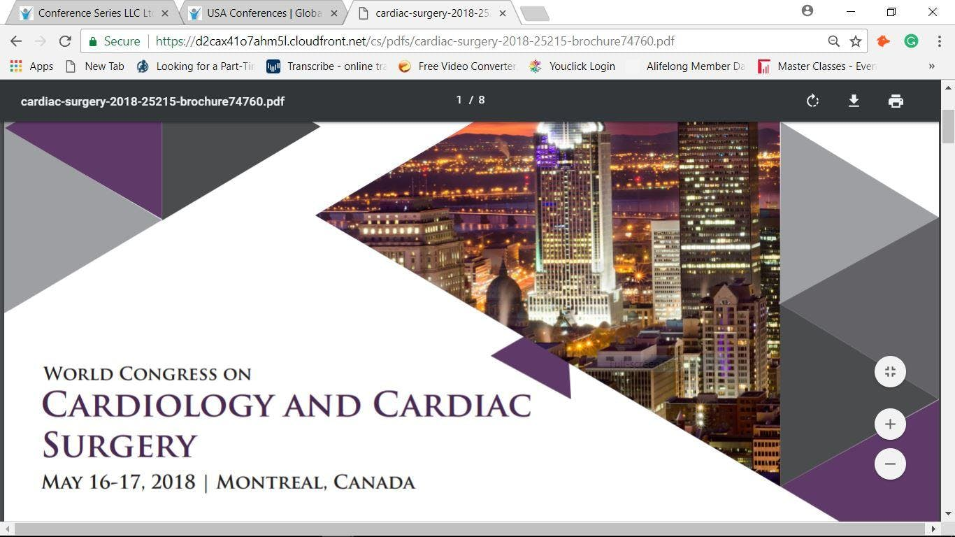 World Congress on  Cardiology and Cardiac Surgery (cse)