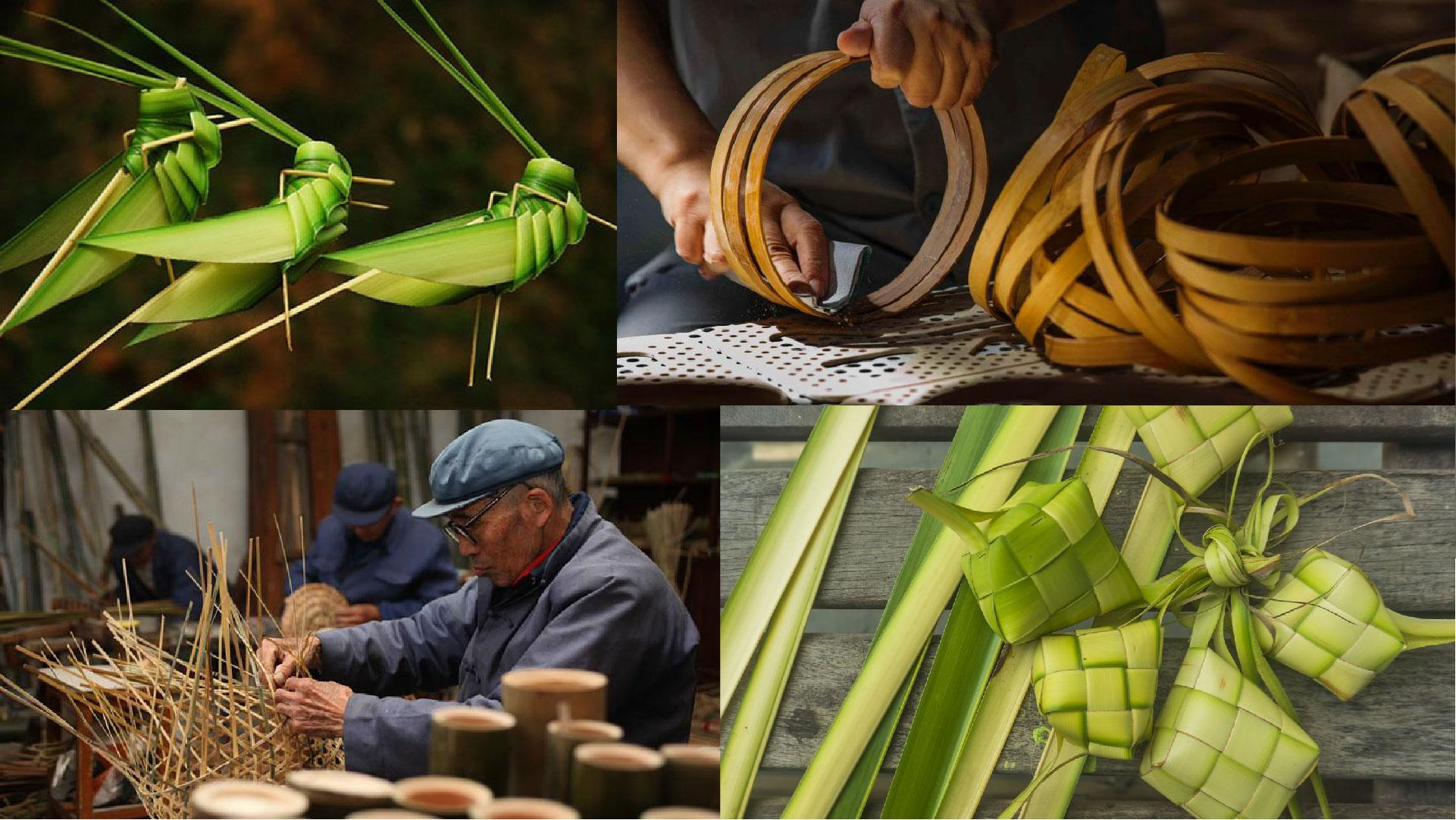 "Chinese Artisans in Florence! — ""Bamboo/Leaf"