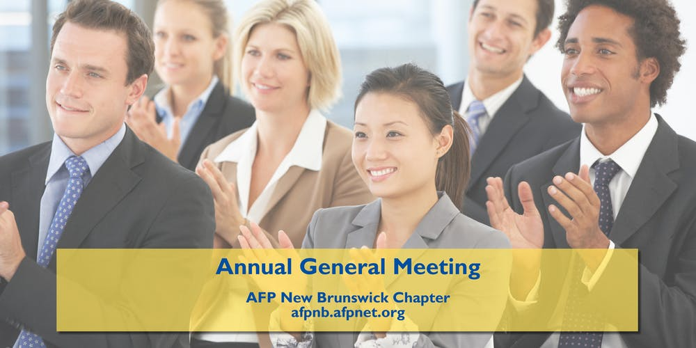 AFP-NB Annual General Meeting Tickets, Thu, 24 May 2018 at 11:45 AM    Eventbrite