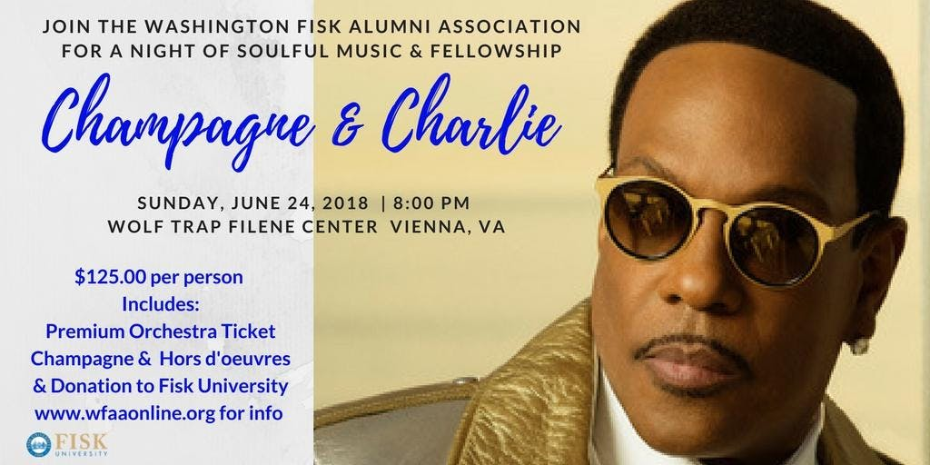 Champagne and Charlie - a Summer Concert Fund
