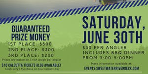 Sweetwater Marina & Riverdeck's 1st Annual Perch...