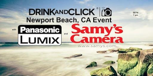 Drink And Click Newport Beach Ca Event With Panasonic Samy S Camera