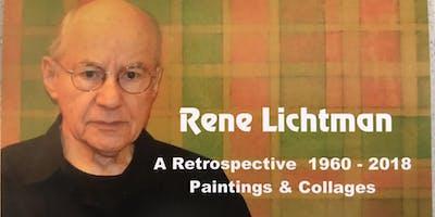 Rene Lichtman A Retrospective Painting & Collages