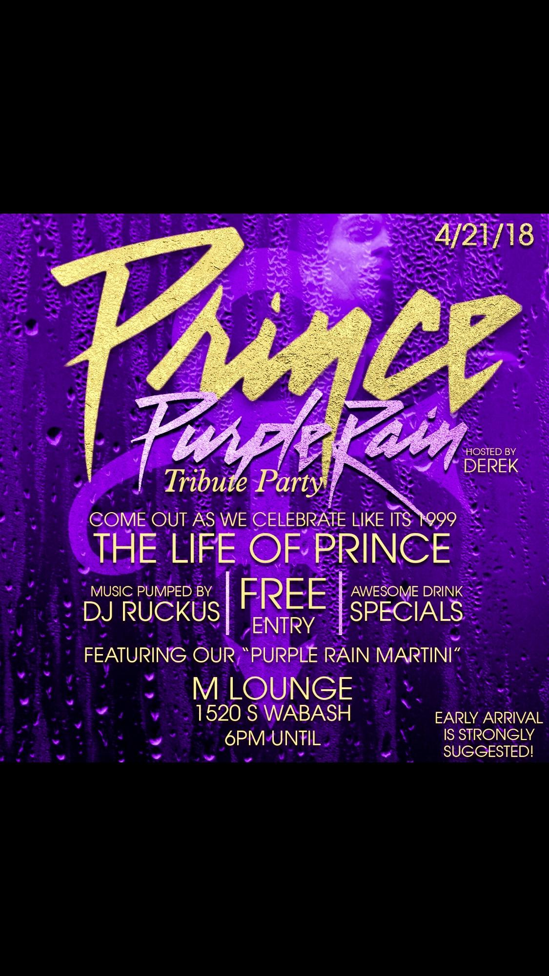 Purple Rain Party