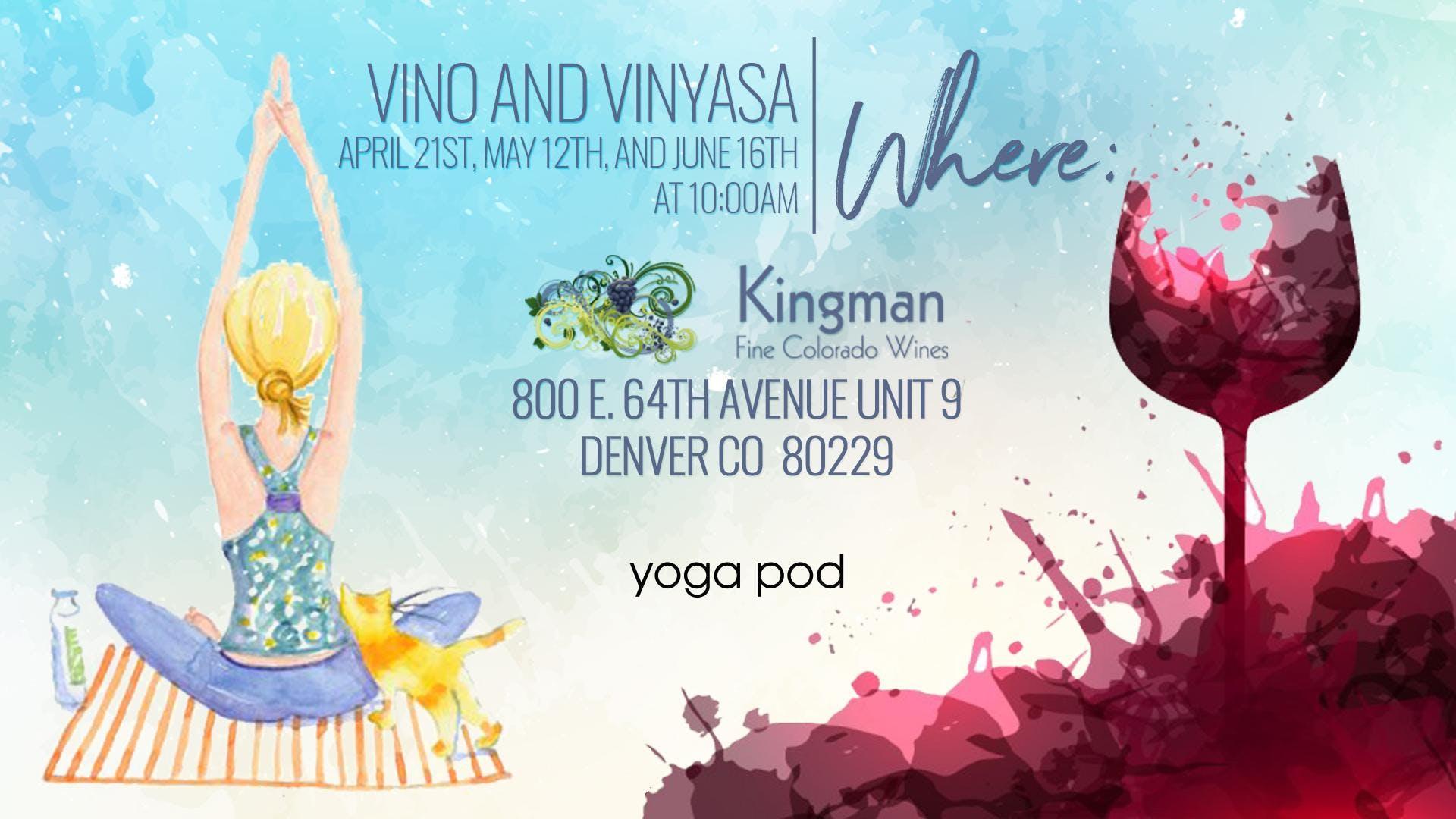 Vino and vinyasa yoga pod class wine tasting kingman estates vino and vinyasa yoga pod class wine tasting kingman estates winery m4hsunfo