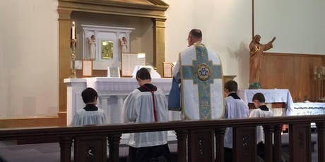 Traditional Latin Low Mass (Catholic, of course!) tickets