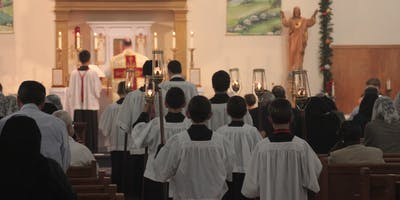 Traditional Latin High Mass (Catholic, of course!)