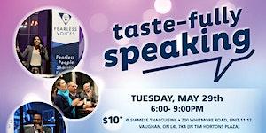 Tastefully Speaking - Fearless Voices Speaker Series -...