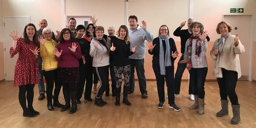 World Laughter Day Celebration in St Albans North of London