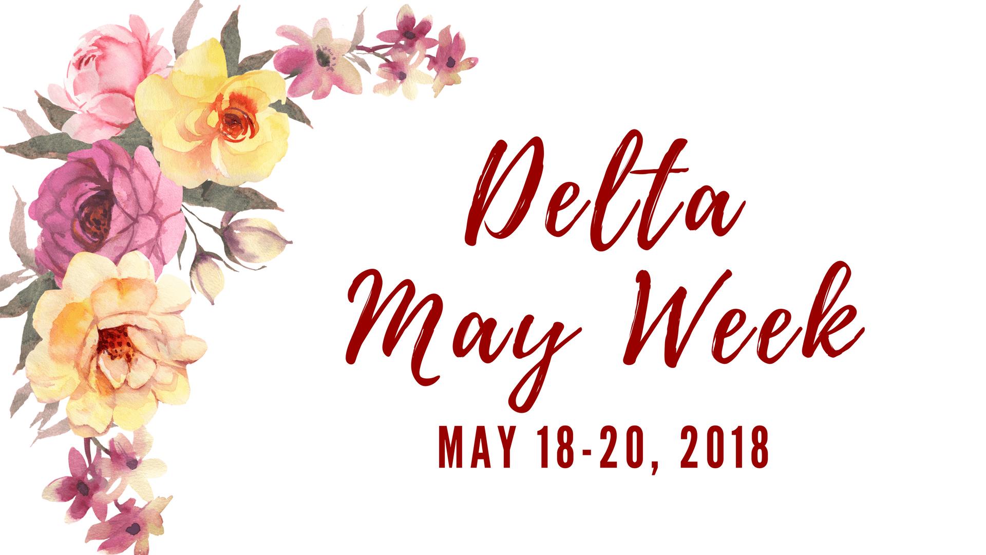 Grand Rapids Alumnae Delta May Week 2018