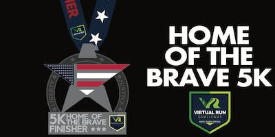 Home of the Brave Virtual 5k Run Walk - Las Vegas