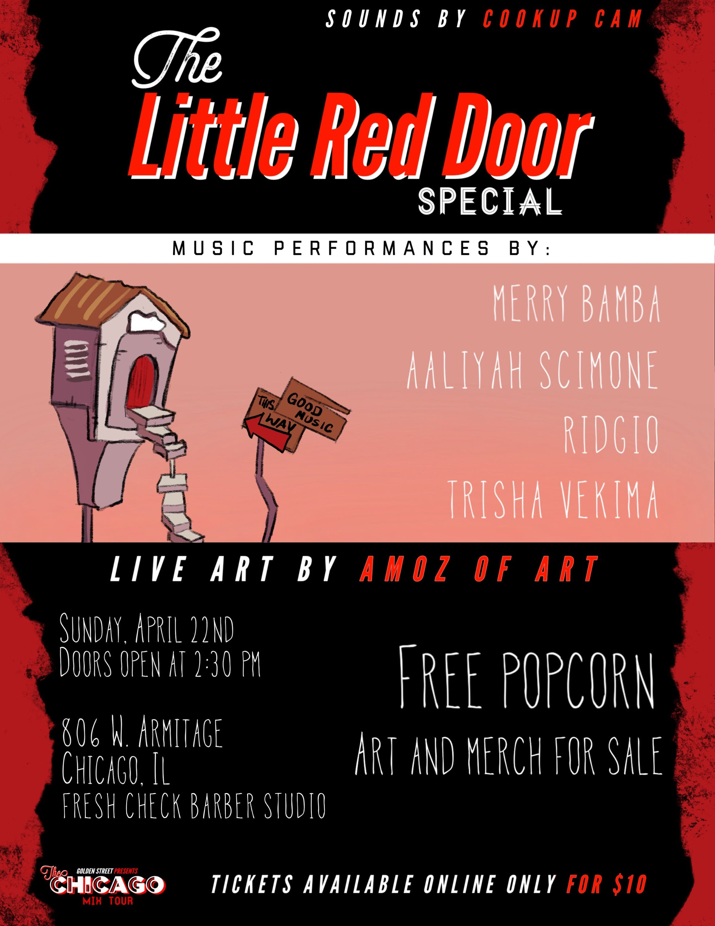 The Chicago Mix Tour Little Red Door Special 22 Apr 2018