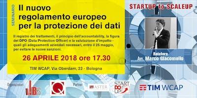 Il nuovo regolamento europeo per la protezione dei dati