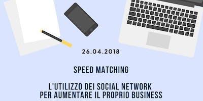 SPEED MATCHING: l'utilizzo dei social network per aumentare il proprio business