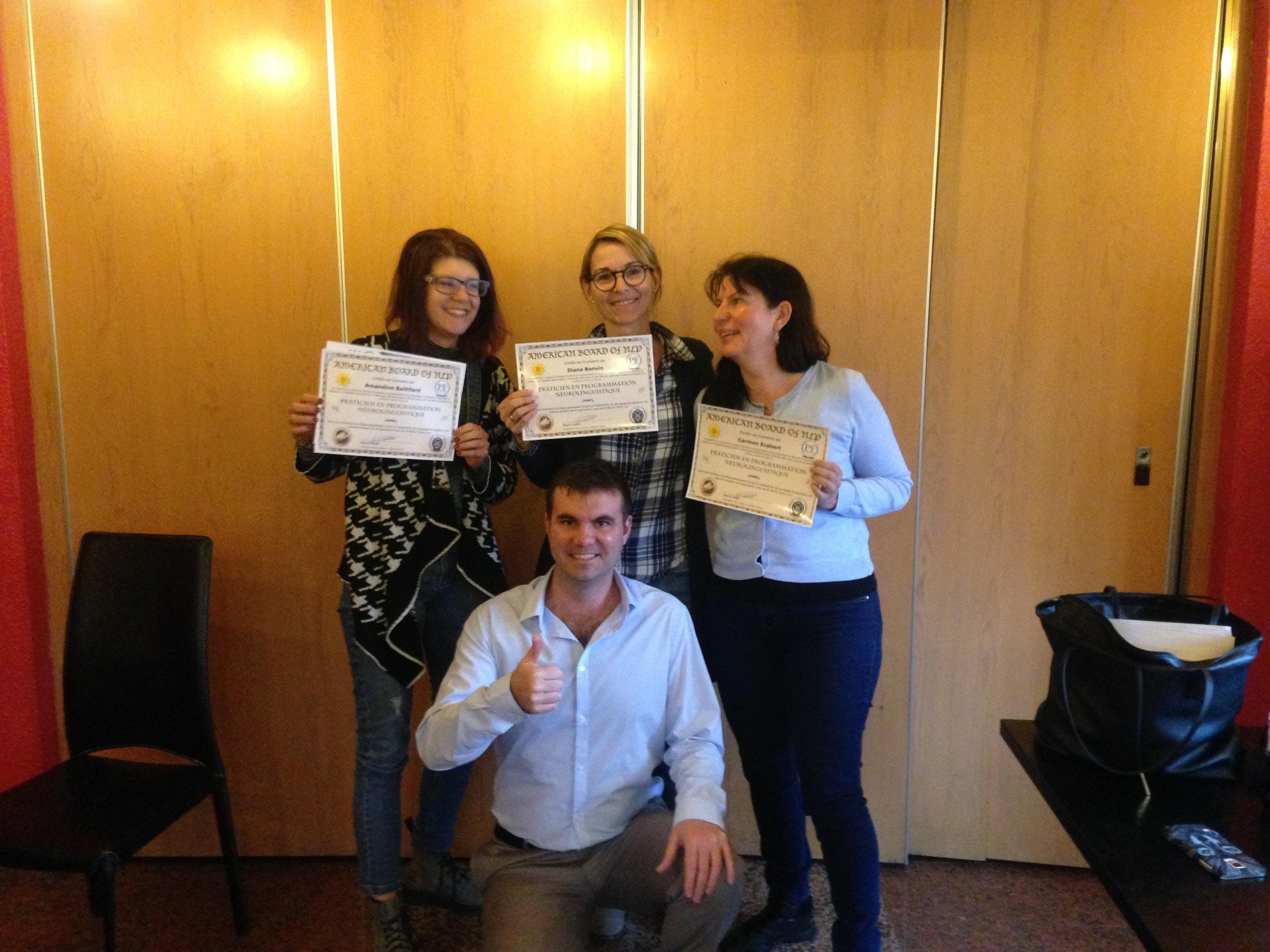 Formation Praticien PNL en Valais avec Certification - Juin/Juillet
