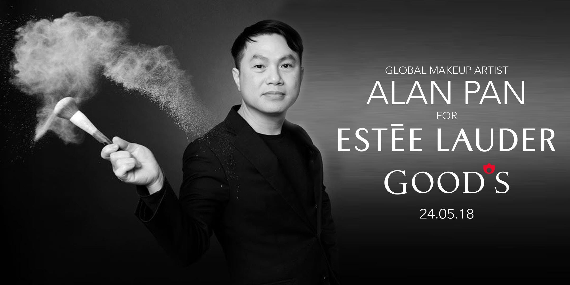 Masterclass with Estée Lauder & Alan Pan.