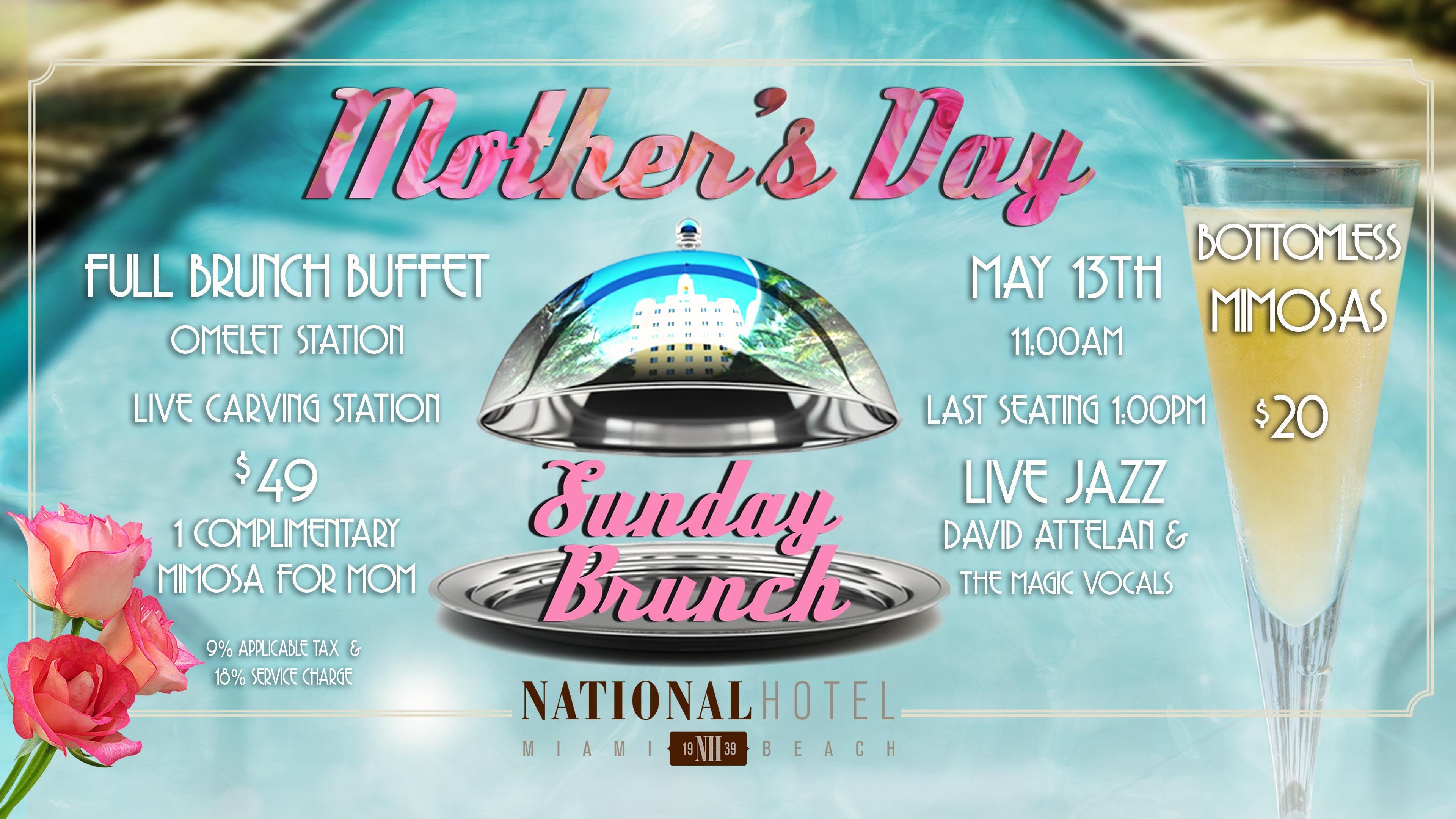 Mother's Day Sunday Jazz Brunch