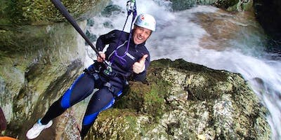 Canyoning a Riancoli