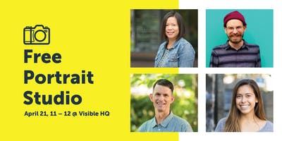 event in Portland: DWP: Free Portrait Studio @ Visible HQ