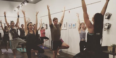 Yoga and Aroma tickets