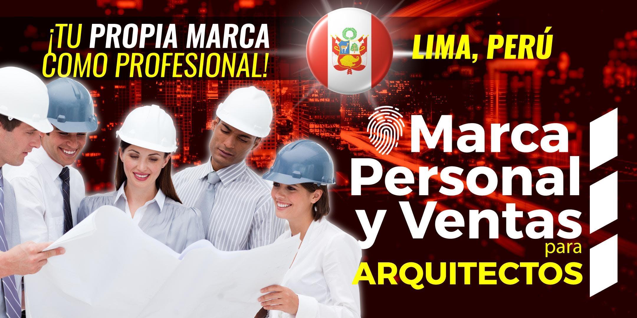 CONFERENCIA MARCA PERSONAL Y VENTAS PARA ARQU