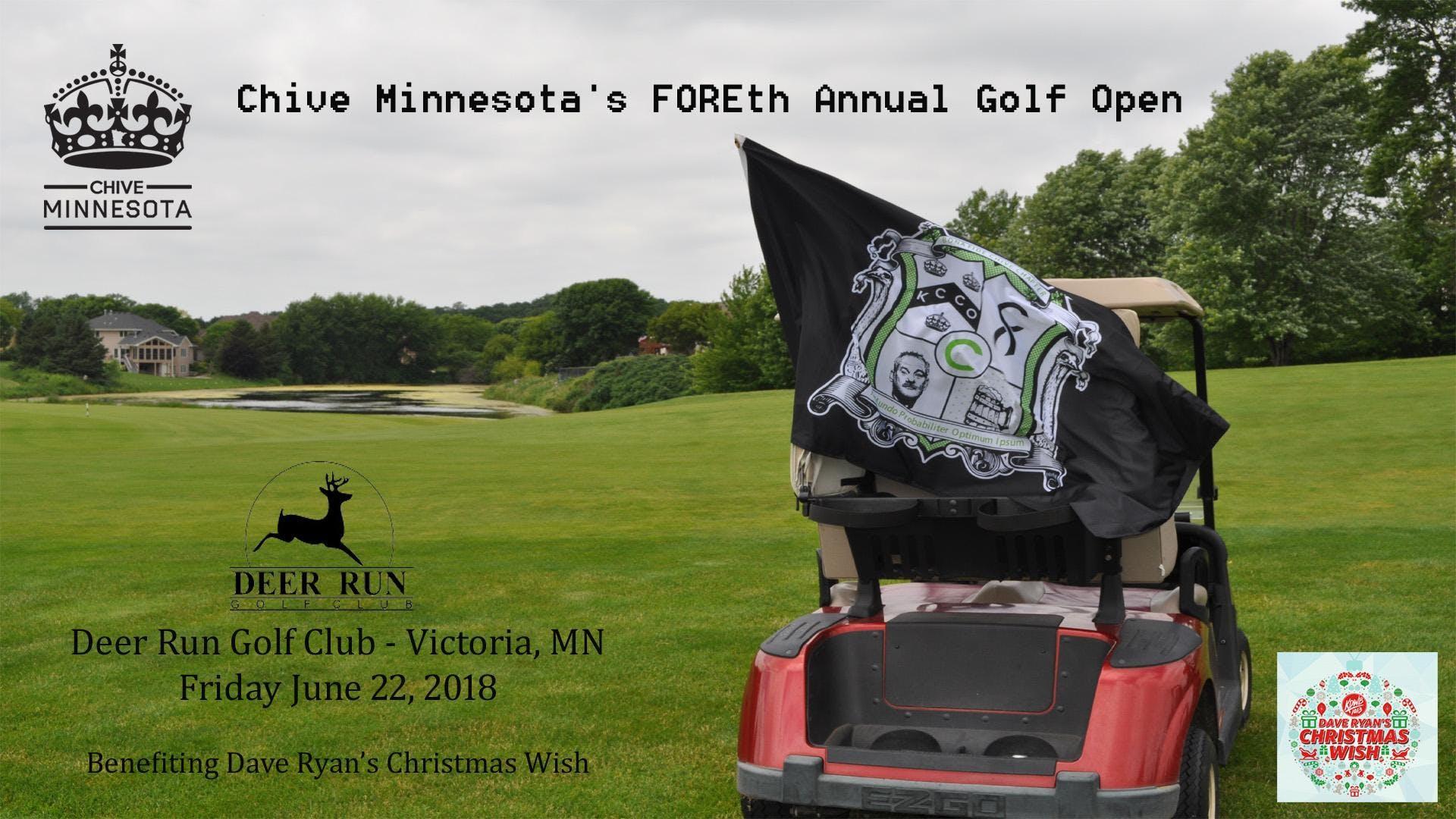 Chive Minnesota\'s FOREth Annual Chive Open! - 22 JUN 2018