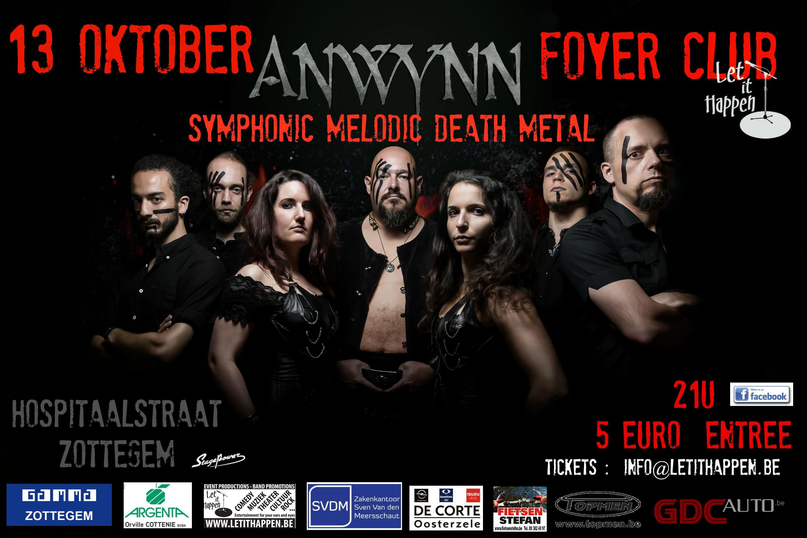 ANWYNN   Melodic Death Metal CLUBSHOW
