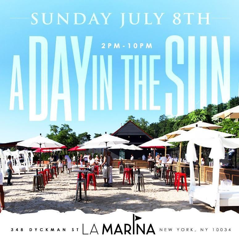 A Day in the Sun Party at La Marina