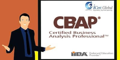 CBAP Certification Training Course in Henderson, NV
