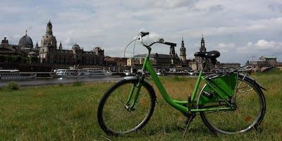 Sommer 2018, Fahrradtour Dresden mit DresdenWalks
