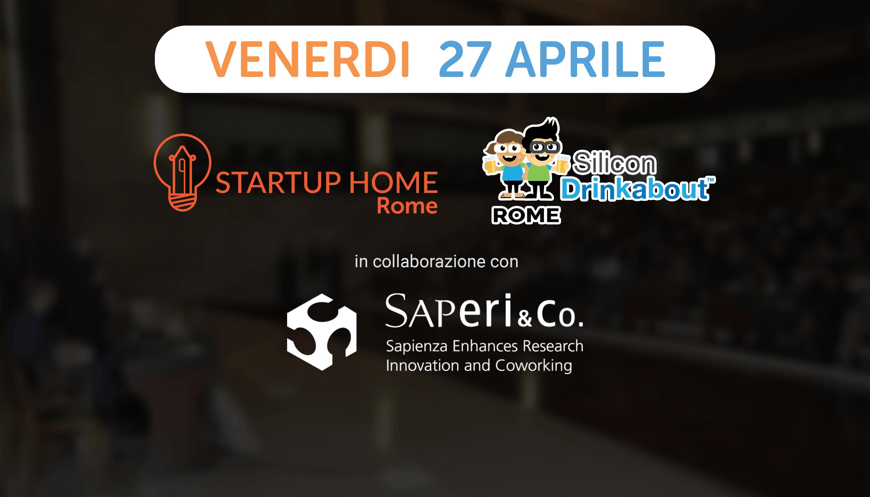 """Silicon Drinkabout Rome 27 aprile - """"Presenta"""