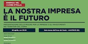 Open day La nostra impresa è il futuro. Presentazione...