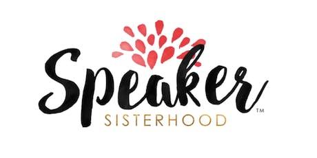 Speaker Sisterhood - Boston Chapter - Meeting  tickets