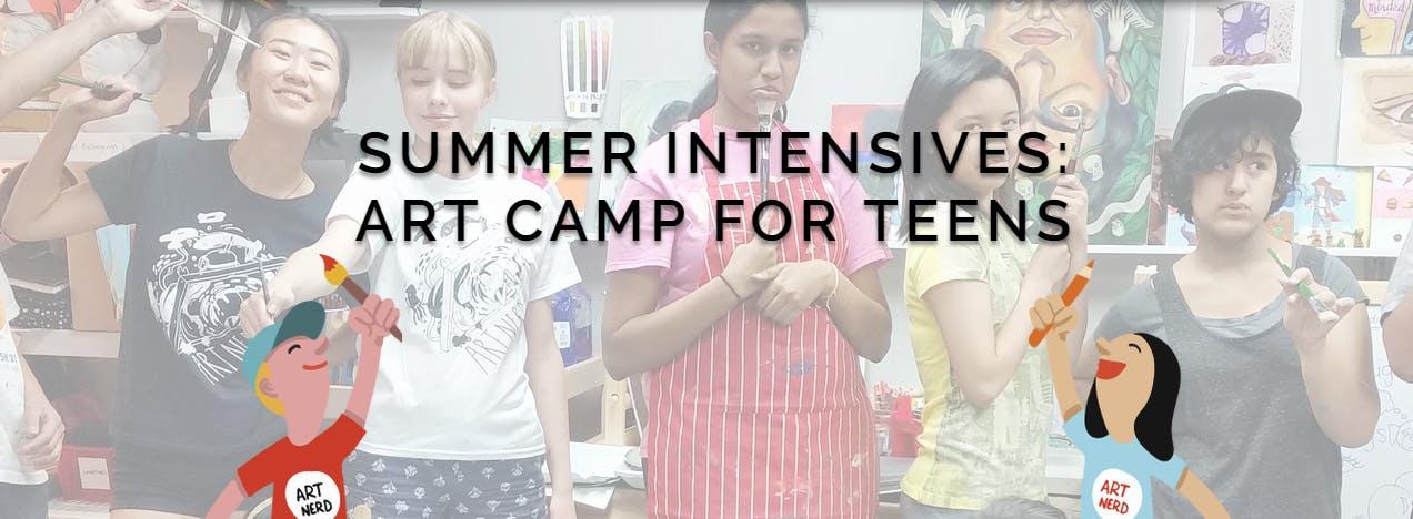 Summer Intensive Camp for Teens - Sculpture a