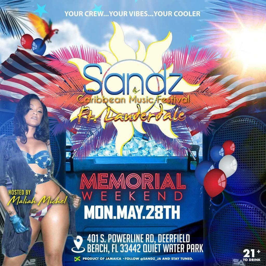 Sandz Ultimate Beach Chill Party Memorial Weekend Edition