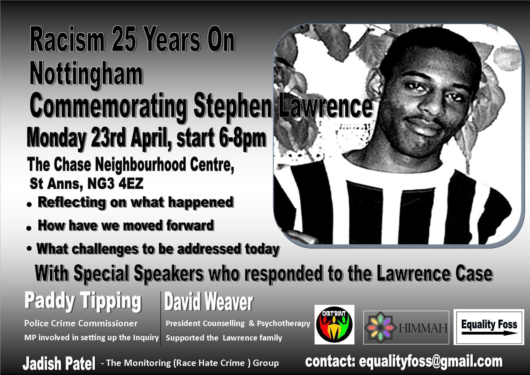Racism 25 Years on - Stephen Lawrence