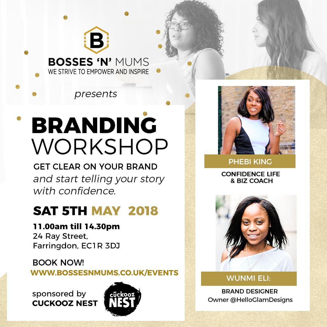 Bosses 'N' Mums Branding Workshop