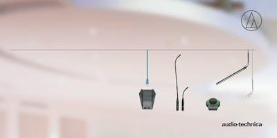 Audio-Technica - Konferenztechnik II - Installationsprodukte, Mikrofonserien und Anwendungen: ProPoint, Unipoint, Engineered Sound, Netzwerk ATND, Funkmikrofone