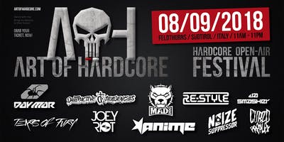 ART OF HARDCORE 2018 / Official Festival / Südtirol - Italy