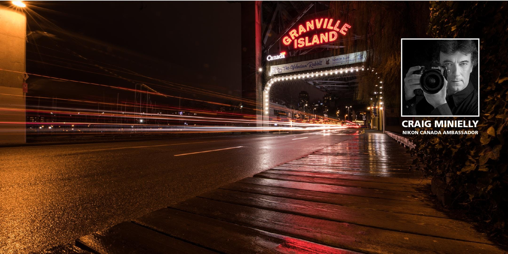 The Granville Island Photo Walk with Craig Minielly at Net