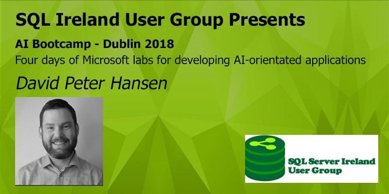 AI Bootcamp - Dublin 2018