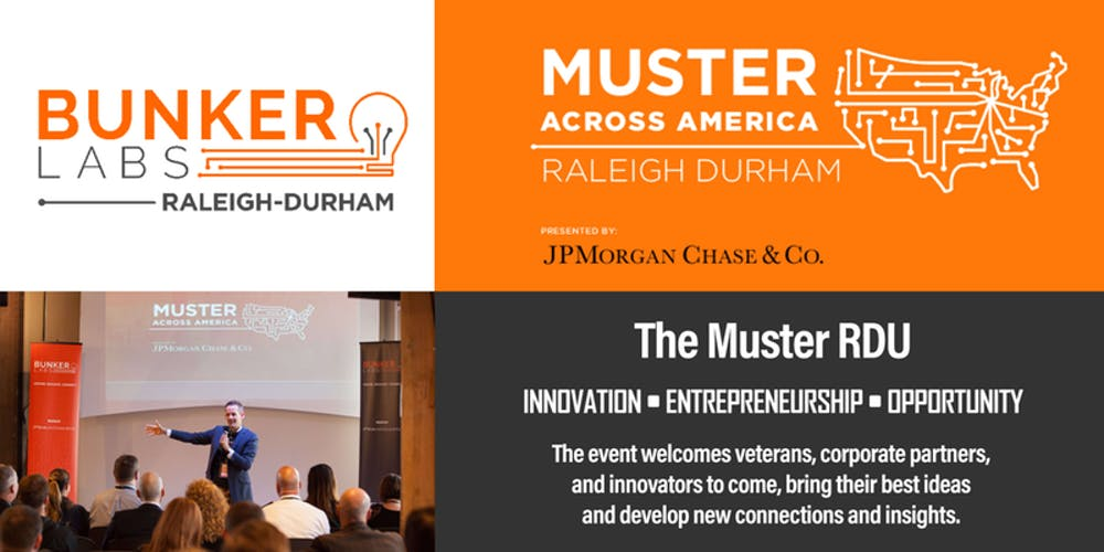 the muster rdu tickets thu mar 14 2019 at 800 am eventbrite - Flyer Muster
