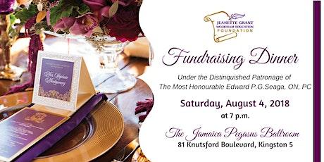 JGWEF Bursary Awards & Fundraising Dinner tickets