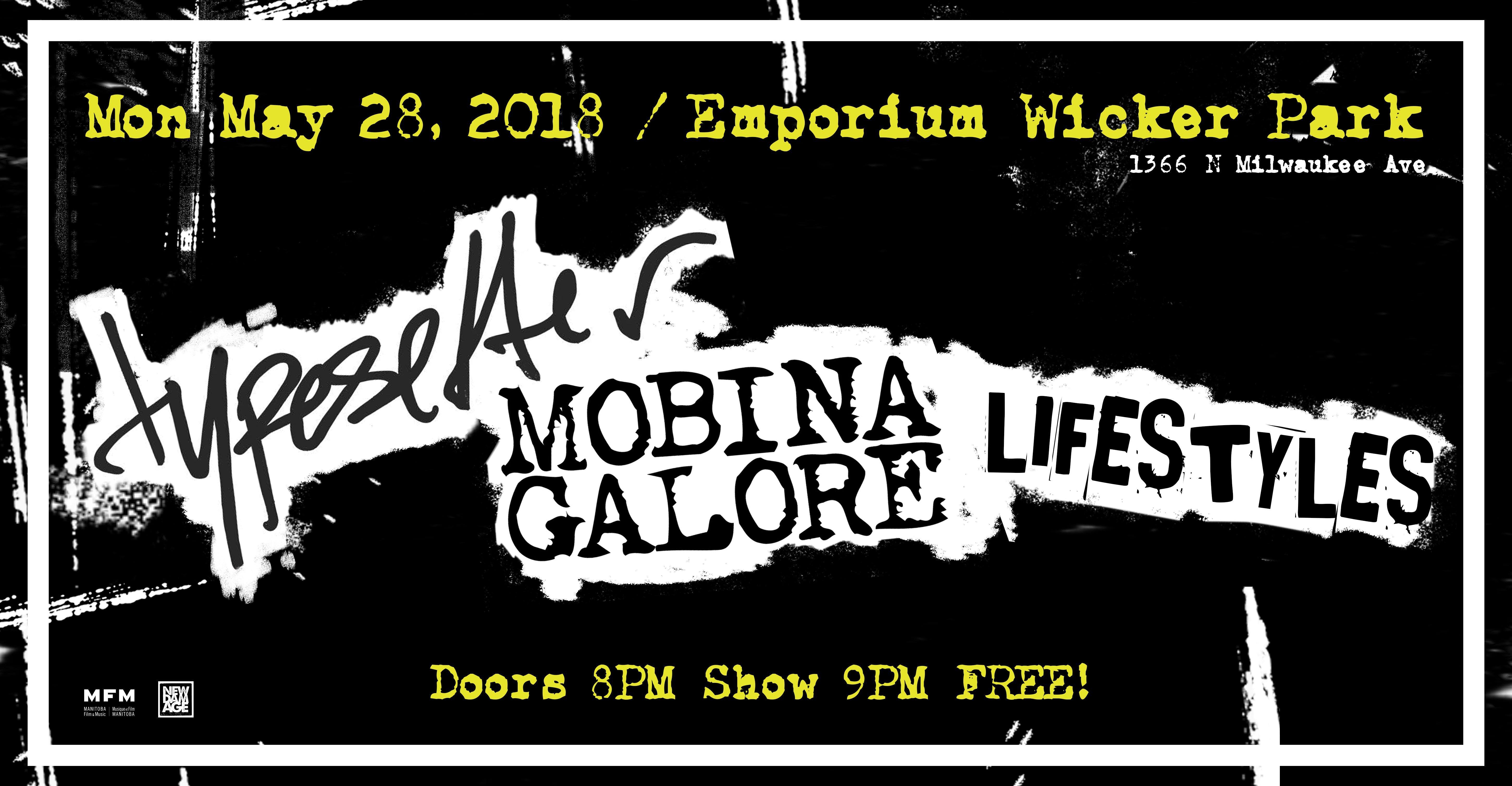 Typesetter / Mobina Galore / Lifestyles