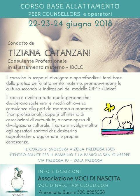 Corso BASE 20 ore OMS-Unicef allattamento - T